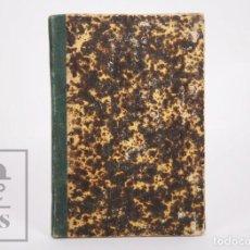 Libros antiguos: ANTIGUO LIBRO LEYES ORGÁNICAS DE AYUNTAMIENTOS, DIPUTACIONES Y PROVINCIALES DE 1870 - TARRAGONA,1870. Lote 168670924