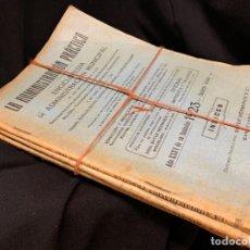 Libros antiguos: LOTE DE 7 REVISTAS LA ADMINISTRACION PRACTICA, DEL AÑO 1923. MIDE 24X17CMS. TEMAS MUY INTERESANTES. Lote 168964452