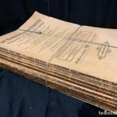 Libros antiguos: LOTE DE 13 REVISTAS LA ADMINISTRACION PRACTICA, DEL AÑO 1911. MIDE 24X17CMS. TEMAS MUY INTERESANTES. Lote 168964568