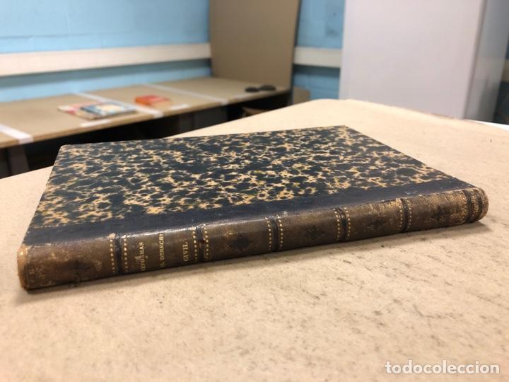 MANUAL DERECHO CIVIL ESPAÑOL (DESDE 1864 HASTA 1 DE MARZO DE 1875). EDUARDO MALUQUER. 1875, NARCISO (Libros Antiguos, Raros y Curiosos - Ciencias, Manuales y Oficios - Derecho, Economía y Comercio)