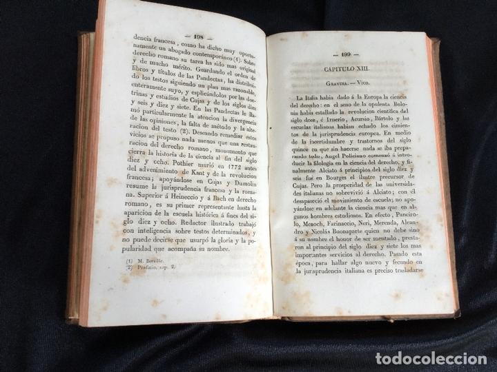 Libros antiguos: Introducción general a la historia del derecho. M. E. Leminier - Foto 3 - 169194204