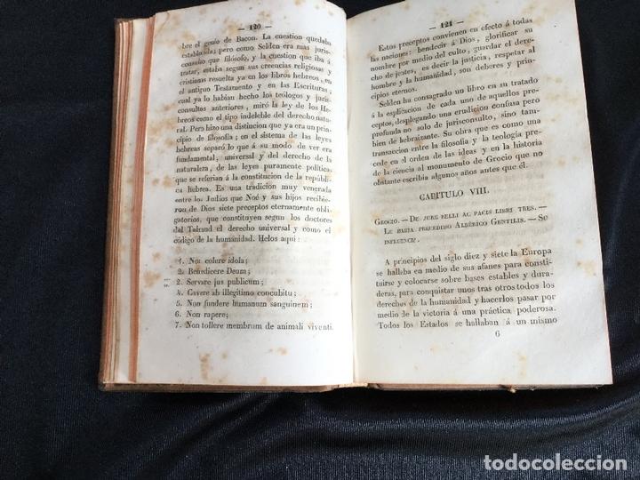 Libros antiguos: Introducción general a la historia del derecho. M. E. Leminier - Foto 4 - 169194204