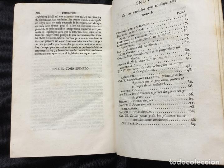 Libros antiguos: Tratados de Legislación civil y penal. Jeremias Bentham. Tomo I - Foto 3 - 169259900