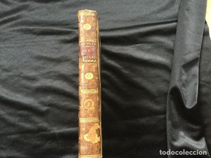Libros antiguos: Tratados de Legislación civil y penal. Jeremias Bentham. Tomo I - Foto 5 - 169259900