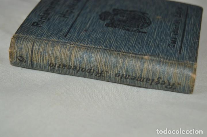 Libros antiguos: CALLEJA - BIBLIOTECA DEL DERECHO VIGENTE - REGLAMENTO HIPOTECARIO - PRINCIPIOS DE 1900 - ¡Mira! - Foto 2 - 169288792