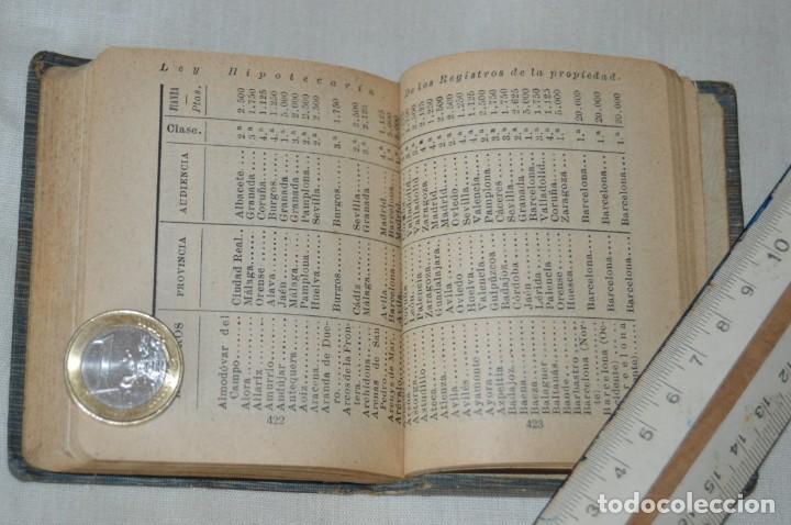 Libros antiguos: CALLEJA - BIBLIOTECA DEL DERECHO VIGENTE - REGLAMENTO HIPOTECARIO - PRINCIPIOS DE 1900 - ¡Mira! - Foto 10 - 169288792