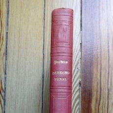Libros antiguos: ESTUDIOS DERECHO PENAL DE JOQUIN FRANCISCO PACHECO 1887 MADRID 444 PAGS. Lote 179319816