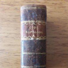 Libros antiguos: CODE NAPOLÉON CONFORME À L'EDITION ORIGINALE DE L'IMPRIMIERE IMPÉRIALE, SUIVI DES LOIS TRANSITOIRES. Lote 171233703