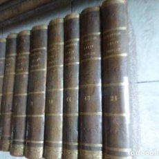 Libros antiguos: LOTE 8 TOMOS COURS DE DROIT FRANÇAIS SUIVANT LE CODE... M. DURANTON. PARIS, 1844. TOMOS: 1 - 5 -. Lote 171609209