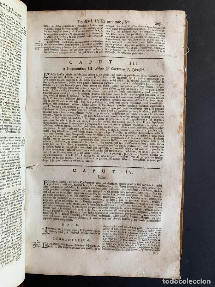 Libros antiguos: 1756 - González Téllez - Escuela de Salamanca - Derecho - Pergamino - Foto 12 - 171911355