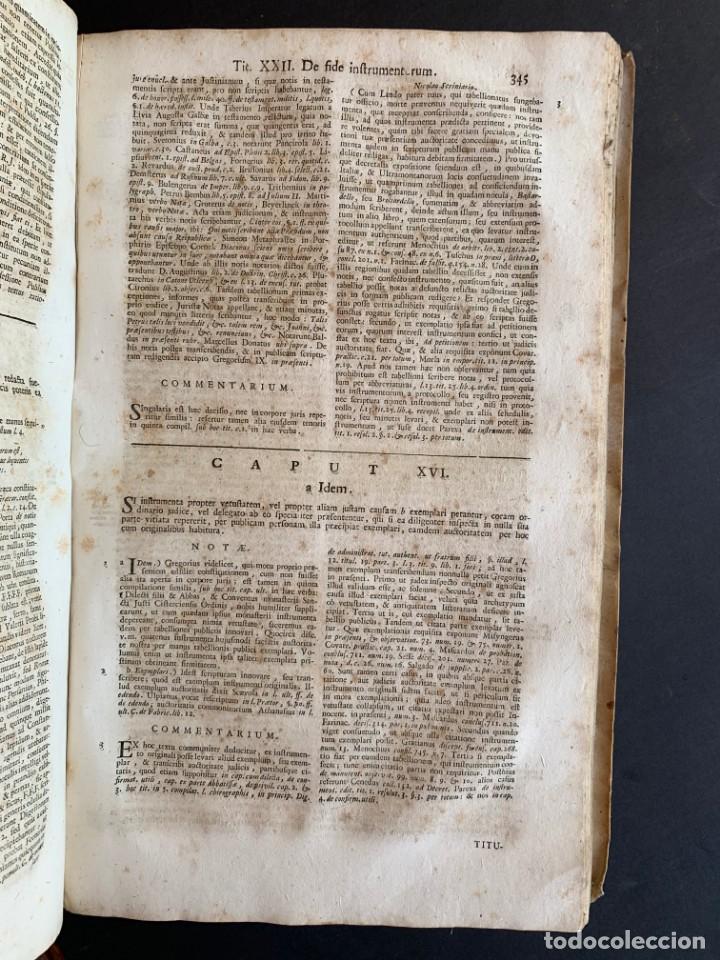 Libros antiguos: 1756 - González Téllez - Escuela de Salamanca - Derecho - Pergamino - Foto 16 - 171911355