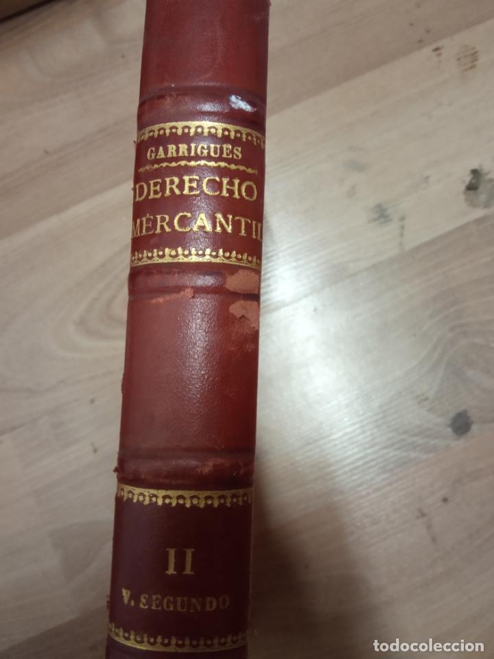DERECHO MERCANTIL-GARRIGUES-1940 (Libros Antiguos, Raros y Curiosos - Ciencias, Manuales y Oficios - Derecho, Economía y Comercio)