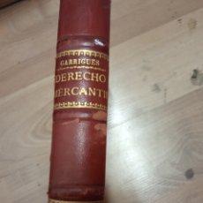 Libros antiguos: DERECHO MERCANTIL-GARRIGUES-1940. Lote 172313729