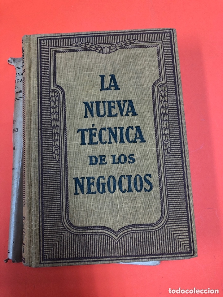 Libros antiguos: LA NUEVA TECNICA DE LOS NEGOCIOS. COMO SE LANZA UN NEGOCIO. L. CHAMBONNAUD. LABOR 1935 - Foto 3 - 172343340