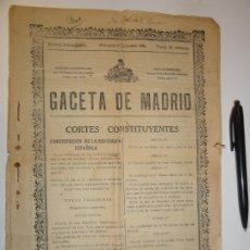 Libros antiguos: CONSTITUCIÓN DE LA REPÚBLICA ESPAÑOLA 1931 - GACETA DE MADRID. Lote 173455912