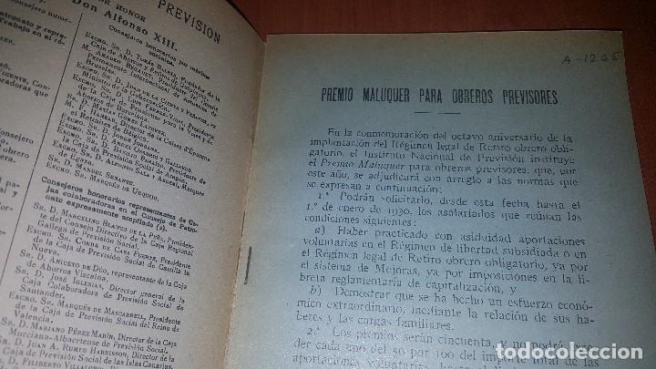Libros antiguos: Reseña de la visita de obreros previsores a la exposicion de barcelona, madrid 1929 - Foto 3 - 173620212