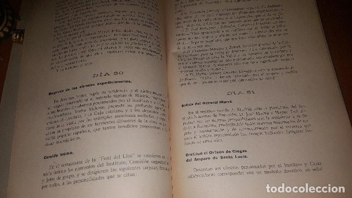 Libros antiguos: Reseña de la visita de obreros previsores a la exposicion de barcelona, madrid 1929 - Foto 5 - 173620212
