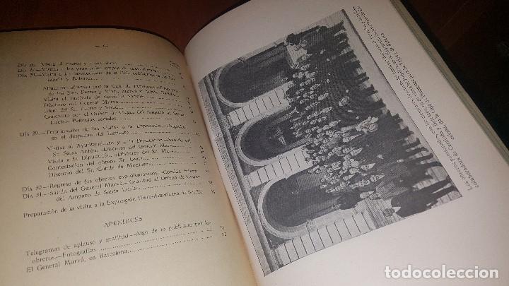 Libros antiguos: Reseña de la visita de obreros previsores a la exposicion de barcelona, madrid 1929 - Foto 6 - 173620212