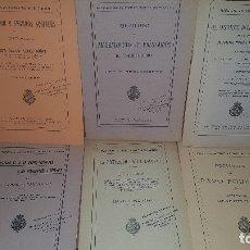 Libros antiguos: 7 PUBLICACIONES DEL INSTITUTO NACIONAL DE PREVISION, DE 1925-1927-1928-1929-1930, VER FOTOS ADJUNTAS. Lote 173623174