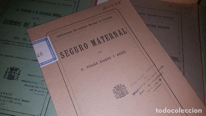 Libros antiguos: 7 publicaciones del instituto nacional de prevision, de 1932 y 1933, ver fotos adjuntas - Foto 8 - 173623473