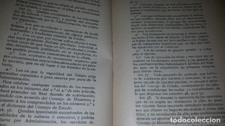 Libros antiguos: Minas y salinas propiedad del estado, año de 1916..disposiciones legales referentes a las minas de.. - Foto 3 - 173865507