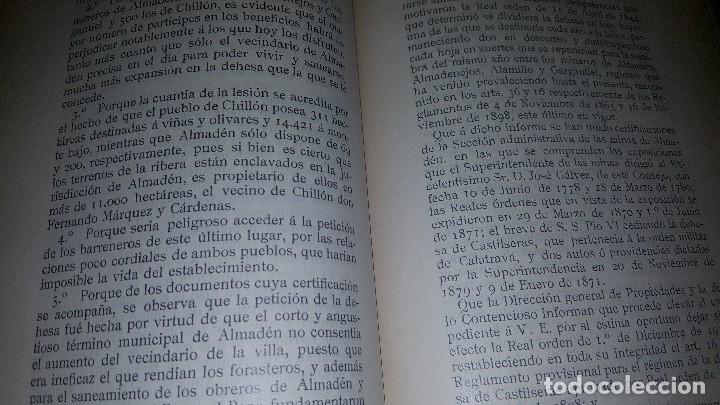 Libros antiguos: Minas y salinas propiedad del estado, año de 1916..disposiciones legales referentes a las minas de.. - Foto 5 - 173865507
