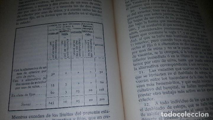 Libros antiguos: Minas y salinas propiedad del estado, año de 1916..disposiciones legales referentes a las minas de.. - Foto 6 - 173865507