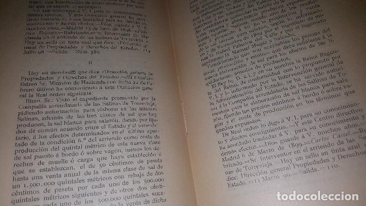 Libros antiguos: Minas y salinas propiedad del estado, año de 1916..disposiciones legales referentes a las minas de.. - Foto 7 - 173865507