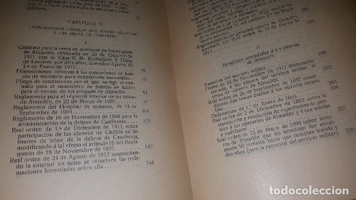 Libros antiguos: Minas y salinas propiedad del estado, año de 1916..disposiciones legales referentes a las minas de.. - Foto 10 - 173865507