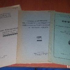 Libros antiguos: 4 PUBLICACIONES DEL COLEGIO DE HUERFANOS DE FUNCIONARIOS DE HACIENDA, DE 1928, Y 1933. Lote 173933649