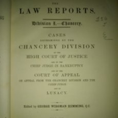Libros antiguos: LIBRO LAW REPORTS 1876-1877 CHANCERY DIVISION. VOLUMEN 4. Lote 174183317