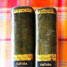 Libros antiguos: INSTITUCIONES ... DE LOS JUICIOS CIVILES, (T 1º), RECURSOS DE FUERZA... (T 2º). 1794. COMPLETO.. Lote 175158030