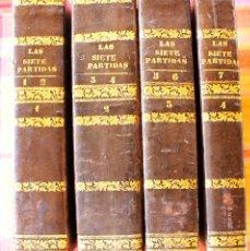 Libros antiguos: RARO : LAS SIETE PARTIDAS DEL SABIO REY DON ALFONSO IX. 1843. COMPLETO.. Lote 175285310