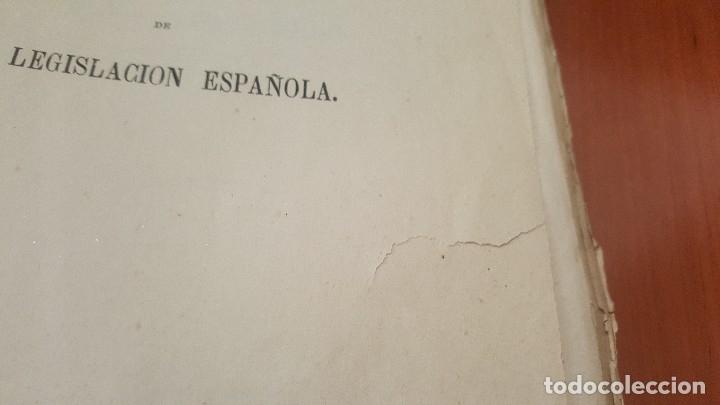 Libros antiguos: Curso historico filosofico de la legislacion española, serafin adame, madrid 1874 - Foto 3 - 175343292