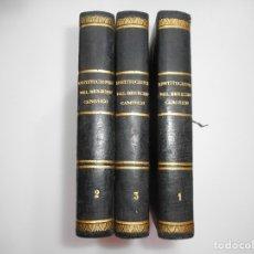 Libros antiguos: DOMINGO CAVALARIO INSTITUCIONES DEL DERECHO CANÓNICO Y95853. Lote 175665899