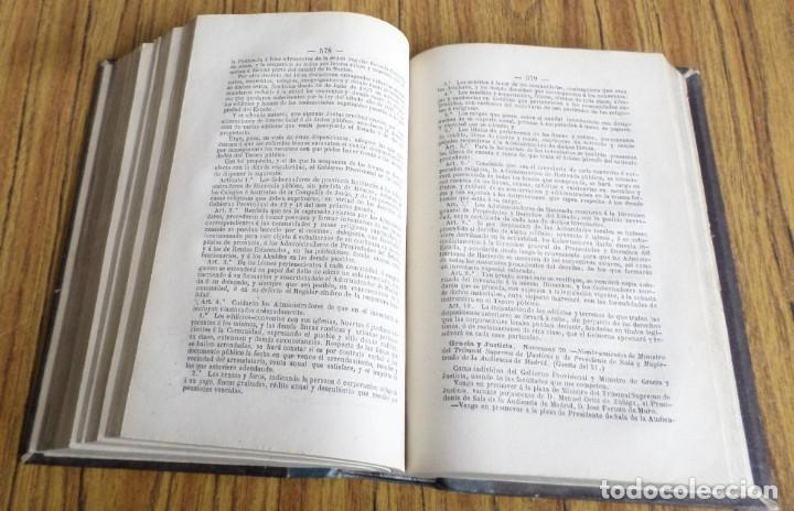 Libros antiguos: LA JUSTICIA - Revista peninsular y ultramar - Dirig Francisco Pareja de Alarcón Y Emilio Bravo 1868 - Foto 5 - 175813158