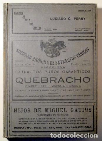 Libros antiguos: CARRIÓ Y COMAS, Martín - DIRECTORIO GUIA INDUSTRIA CURTIDOS, CALZADO Y AFINES DE ESPAÑA - 1918 - Foto 5 - 176043305