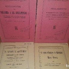 Libros antiguos: 7 PUBLICACIONES DEL INST. NACIONAL DE PREVISION, LEER DESCRIPCION Y VER FOTOS. Lote 176256207