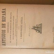 Libros antiguos: CODIGOS ANTIGUOS DE ESPAÑA. Lote 176761582
