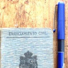 Libros antiguos: LEY DE ENJUICIAMIENTO CIVIL. Lote 176763745