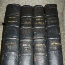 Libros antiguos: NOVISIMA RECOPILACION DE LAS LEYES DE ESPAÑA 12 LIBROS MANDADA POR CARLOS IV 1805 MADRID. Lote 176871168