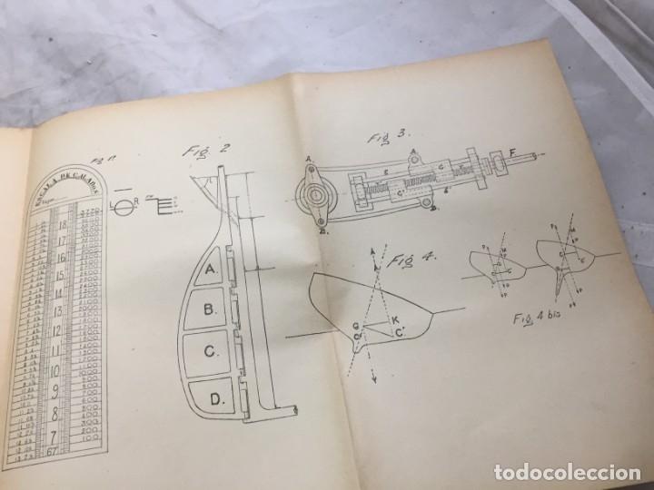Libros antiguos: Libro manejo marinero de los buques de comercio, Blanco (jefe de la armada) y Boado 1919 - Foto 10 - 177009588
