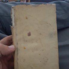 Libros antiguos: BONITO LIBRO SIGLO XVIII PERGAMINO ( MANUSCRITO INCUNABLE ANTIGUO ). Lote 177143240