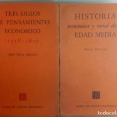Libros antiguos: LOTE DE 2 LIBROS DE ECONOMIA, EDITORIAL DE MEXICO, VER DESCRIPCION, L11836. Lote 177191803