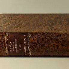 Libros antiguos: MANUAL ENCICLOPÉDICO TEÓRICO-PRÁCTICO DE LOS JUZGADOS MUNICIPALES. 1898.. Lote 177589427