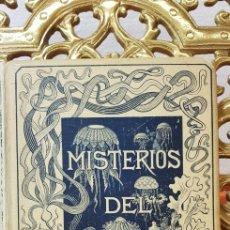 Libros antiguos: MISTERIOS DEL MAR, MANUEL ARANDA SANJUAN, 1891, MONTANER Y SIMON,. Lote 178657471