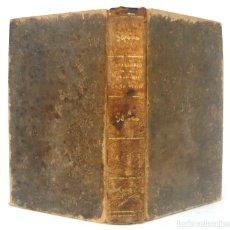 Libros antiguos: 1846 - INSTITUCIONES DE DERECHO CANÓNICO - 3 TOMOS ENCUADERNADOS EN UN VOLUMEN EN PIEL - SIGLO XIX. Lote 178676647