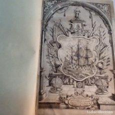 Libros antiguos: ORDENANZAS DE LA ILUSTRE UNIVERSIDAD Y CASA DE CONTRATACION DE LA M N Y M L VILLA DE BILBAO ... 1738. Lote 179089320