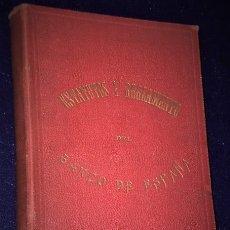 Libros antiguos: LEYES ORGANICAS ESTATUTOS Y REGLAMENTO DEL BANCO DE ESPAÑA.(1887). Lote 179559308