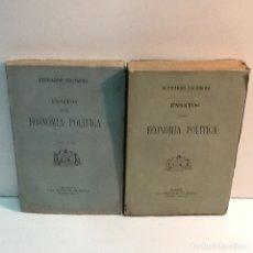 Libros antiguos: BERNARDO ESCUDERO ... ENSAYOS SOBRE ECONOMIA POLITICA ... 1879. Lote 180022981